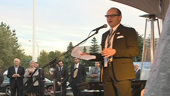 Vaughan Wyant is contributing $1 million to the Remai Art Gallery of Saskatchewan campaign.