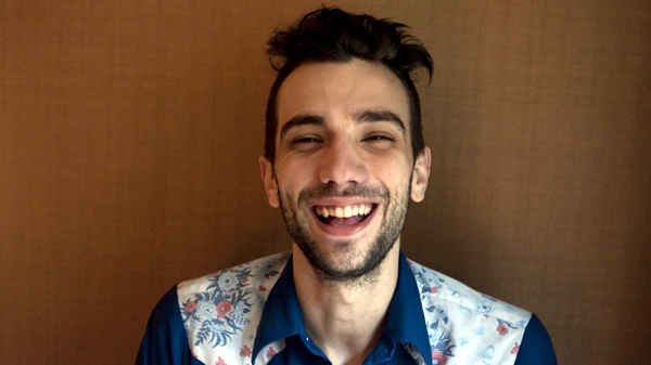Jay Baruchel poses for a photo as he promotes his new film Good Neighbours at the Toronto International Film Festival in Toronto on Tuesday Sept. 14, 2010. (Chris Young / THE CANADIAN PRESS)