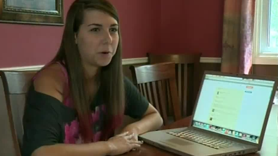 Waterloo Collegiate Institute student Rhiannon Melvin, who took to social media and started a petition to save the 'grad buddy' program, is seen on Thursday, Sept. 13, 2012.
