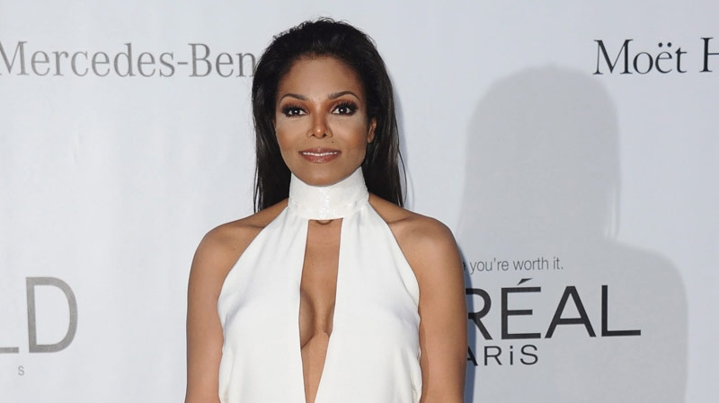 Janet Jackson at the amfAR Cinema Against AIDS benefit at the Hotel du Cap-Eden-Roc in Cap d'Antibes, France, on May 24, 2012. (AP Photo/Jonathan Short)