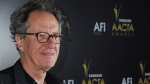 This Jan. 27, 2012 photo shows Geoffrey Rush arriving at The Australian Academy of Cinema and Television Arts Awards at the Soho House, in Los Angeles. (AP Photo/Katy Winn)