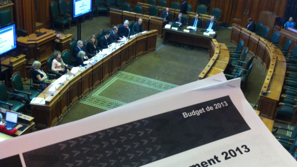 Montreal City Council is planning a 3.4% tax hike (Sept. 14, 2012)