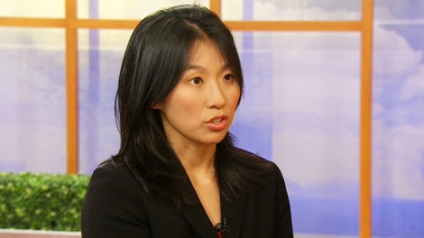 Fertility lawyer Nancy Lam appears on CTV's Canada AM on Wednesday, Sept. 15, 2010.