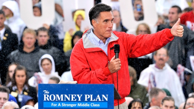 Mitt Romney says middle income $250K