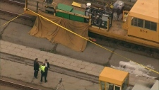 TTC worker killed by maintenance train