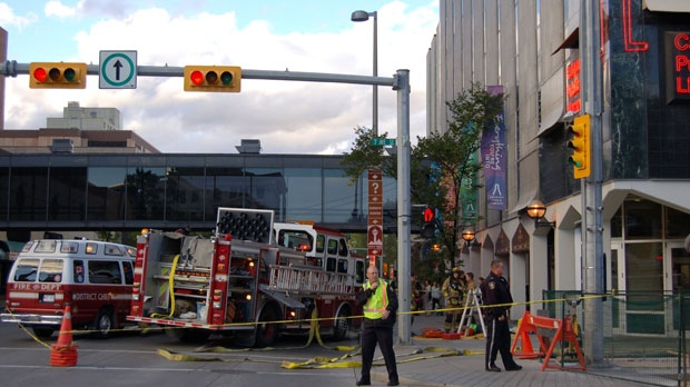 Central library suffers fire damage | CTV Calgary News