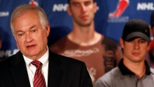 NHL Players Association executive director Donald Fehr