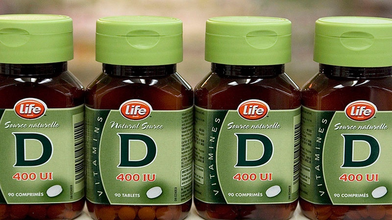 Vitamin D sits on a shelf in a Dartmouth, N.S. drug store on Friday, June 8, 2007. (Andrew Vaughan / THE CANADIAN PRESS)