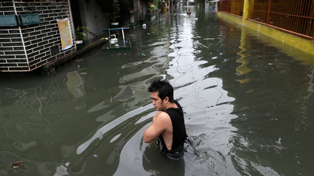 Typhoon Sanba