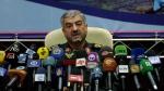 Commander of Iran's Revolutionary Guard Gen. Mohammad Ali Jafari, speaks in a press conference in Tehran, Iran, Sunday, Sept. 16, 2012. (AP / Vahid Salemi)