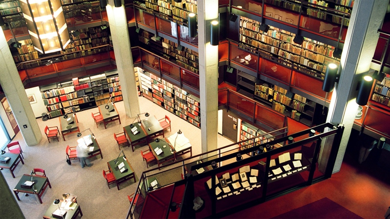 The Thomas Fisher Rare Book Library is seen in this image courtesy the University of Toronto.