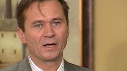Don Koziak speaks to the media on Thursday, September 16, 2010.