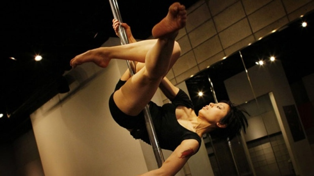 Pole dancing competition held in Campbell River