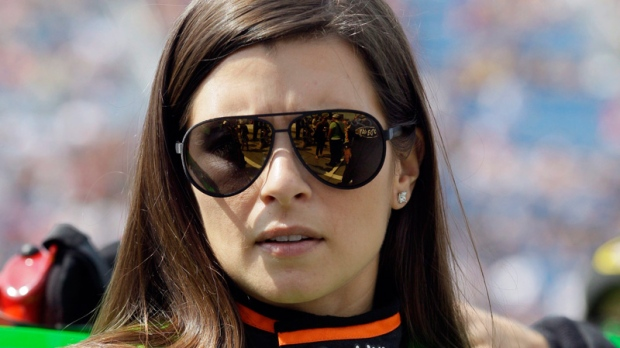 Danica Patrick at Chicagoland Speedway in Joliet, Ill. on Sept. 16, 2012.