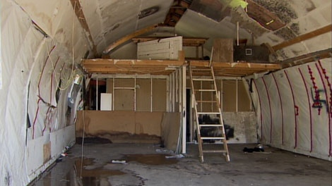 The Pitt Meadows property where police say a 16-year-old girl was raped. Sept. 17, 2010. (CTV)