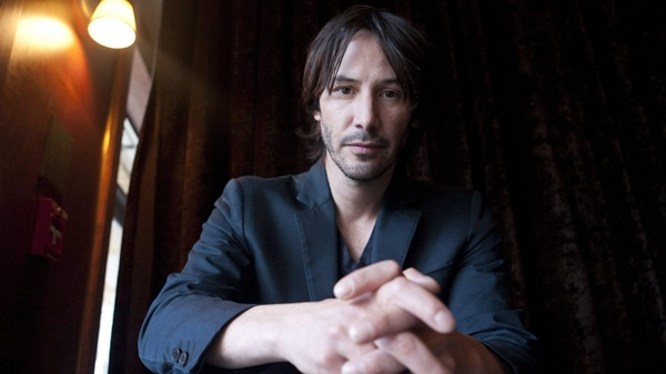 Keanu Reeves poses for a photograph as he promotes his film 'Henry's Crime' at the Toronto International Film Festival in Toronto on Monday, Sept. 13, 2010. (Chris Young / THE CANADIAN PRESS)