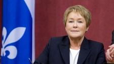 Pauline Marois international trip
