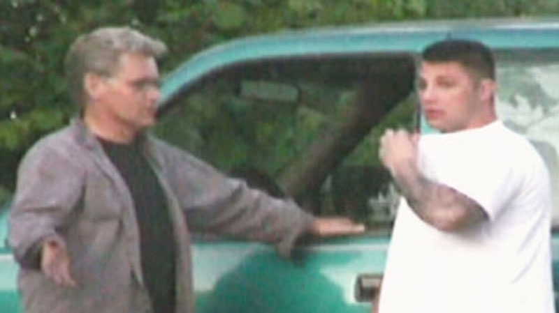 Wayne Scott, left, and Jarrod Bacon are seen in this undated image.