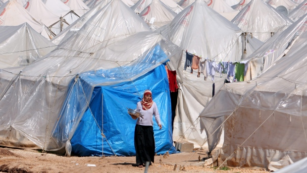Turkey, Syria, Refugee camp