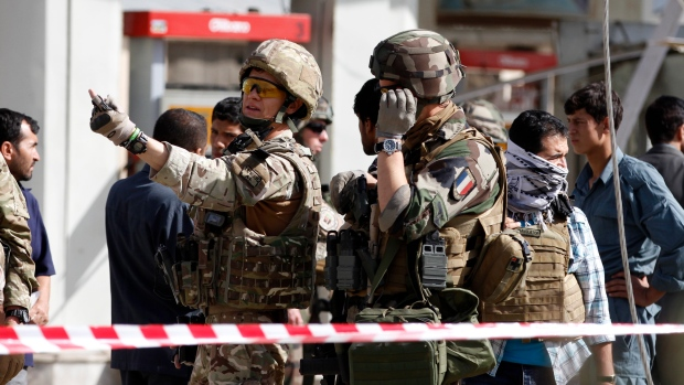 French soldiers, suicide bombing, Kabul, Afghanistan