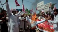 Protesters, Barack Obama, Pakistan, Muhammad