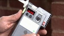 Lawyer Paul Doroshenko got a .295 breathalyzer reading just by gargling mouthwash. Sept. 20, 2010. (CTV)