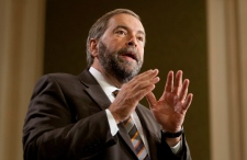 Thomas Mulcair NDP caucus