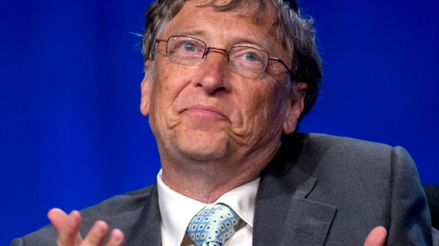 比尔·盖茨面对中国富翁的感叹 - 纽约文摘 - 纽约文摘