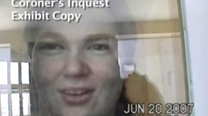 Ashley Smith is shown in this still image taken from a coroner's video.