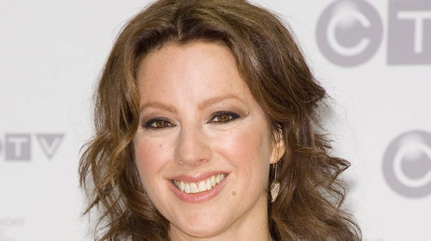 Singer-songwriter Sarah McLachlan arrives at the Juno Awards on Sunday, April 1, 2012, in Ottawa, Ontario. (AP Photo/Arthur Mola)