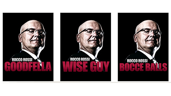 """Rocco Rossi released a new series of ads that borrowed from imagery used in the 1990 Italian gangster movie """"Goodfellas."""""""