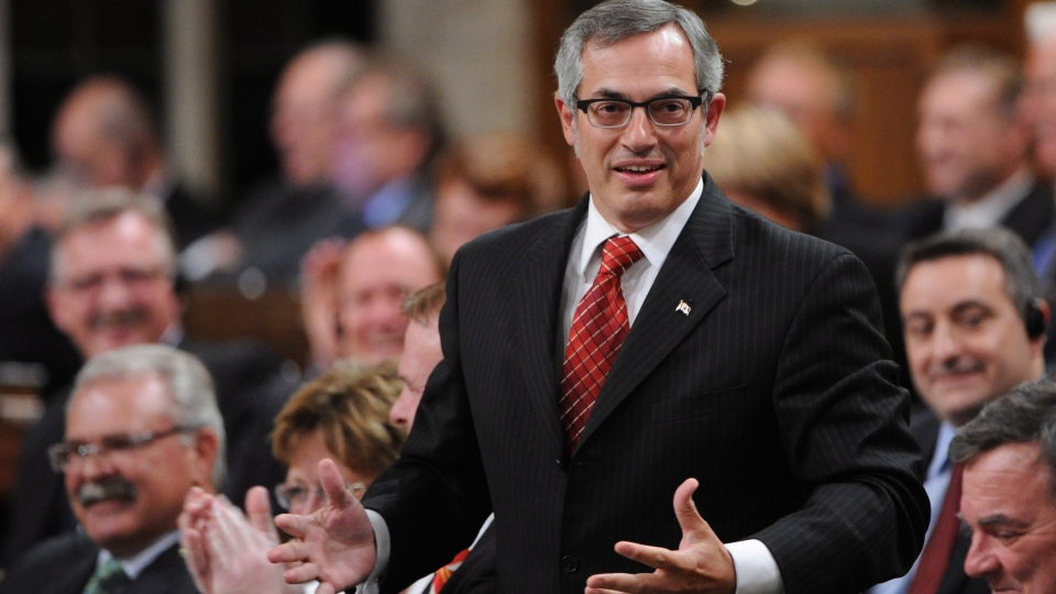 Treasury Board President Tony Clement responds to a question during question period in the House of Commons on Parliament Hill in Ottawa on Wednesday, Sept. 19, 2012. (Sean Kilpatrick / THE CANADIAN PRESS)