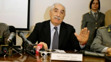 Milan-based anti-terrorism prosecutor Armando Spataro