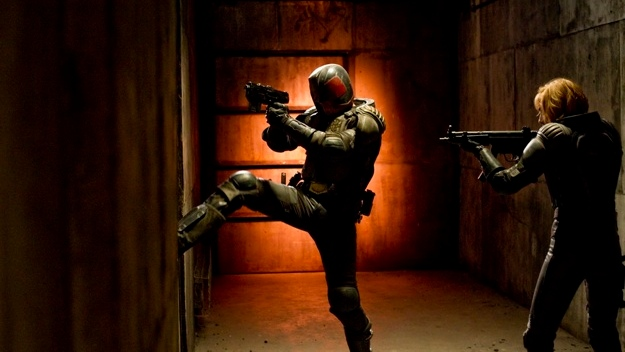 A scene from Alliance Atlantis Films' 'Dredd 3D.'