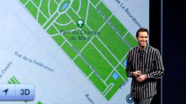 iOS 6 software, including a new maps program