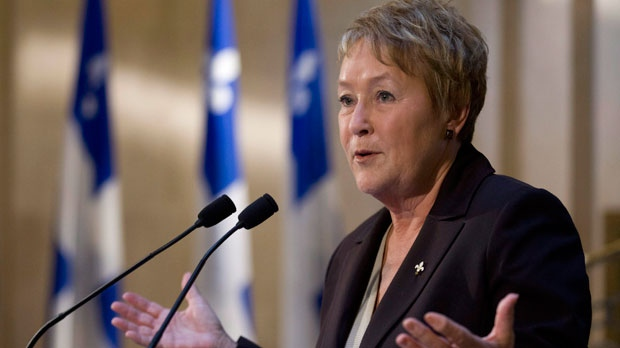 Quebec Premier Pauline Marois is shown in a file photo taken on Thursday, September 20, 2012 at the legislature in Quebec City. (The Canadian Press/Jacques Boissinot)