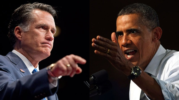 Mitt Romney vs. Barack Obama