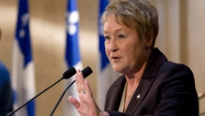 Quebec Premier Pauline Marois announces the cancellation of tuition hikes