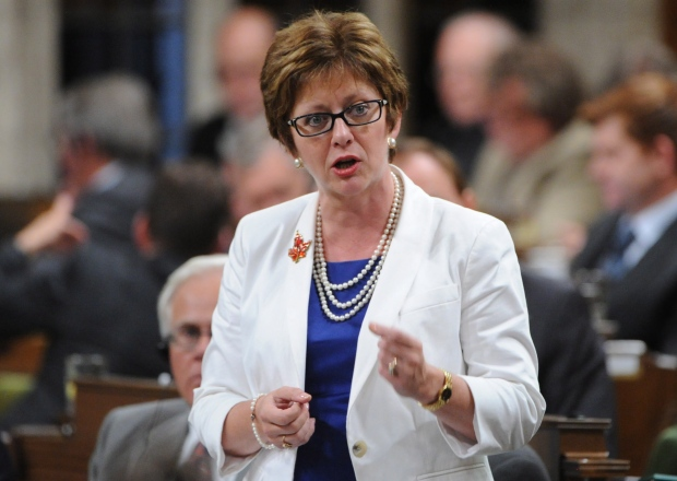 Minister of Human Resources Diane Finley