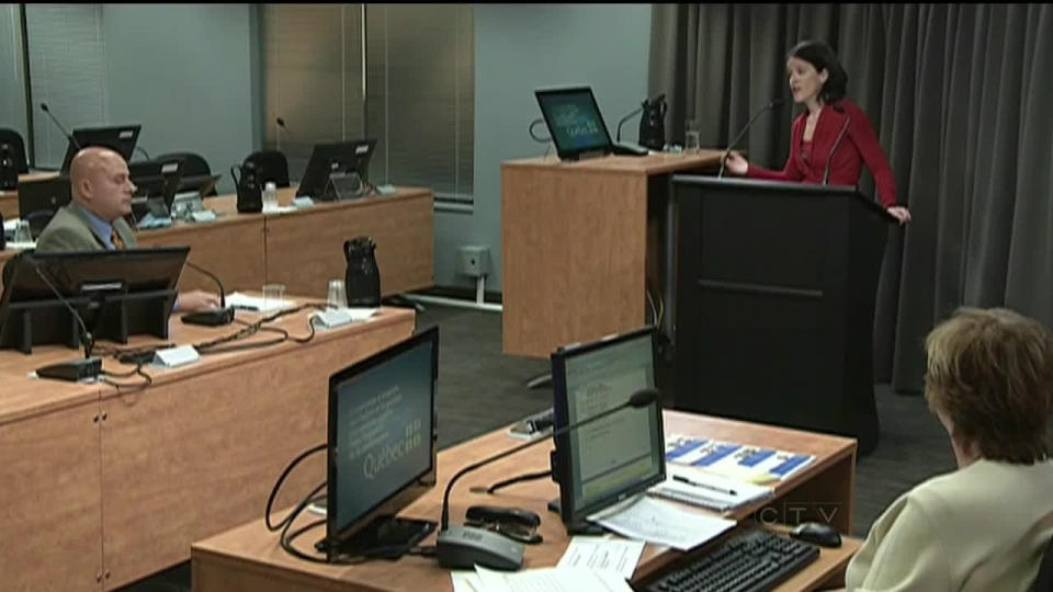 Testimony continues at the Charbonneau inquiry in Montreal.