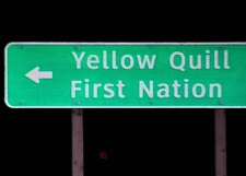One girl was found dead and another is missing on the Yellow Quill First Nation east of Saskatoon.