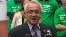 Deputy Mayor Joe Pantalone said on Wednesday, Sept. 22, 2010 that electing Coun. Rob Ford as mayor would put Toronto on the path to become like Buffalo or Detroit.