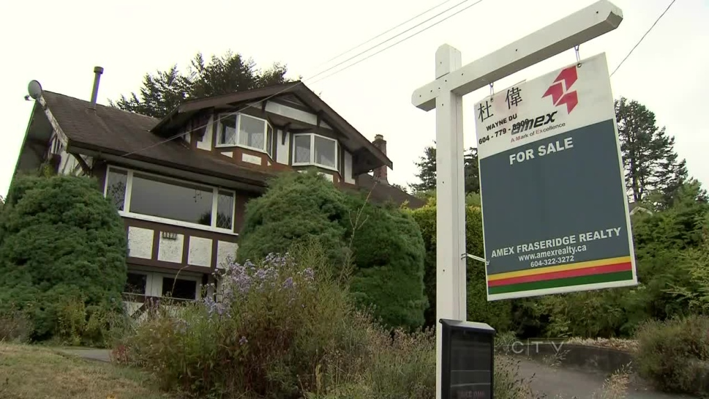 CTV BC: House prices predicted to drop 40 per cent