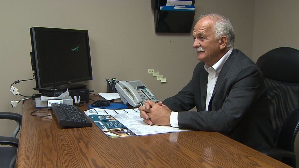 Public Safety Minister Vic Toews speaks with CTV about a controversial prison report, Friday, Sept. 21, 2012.
