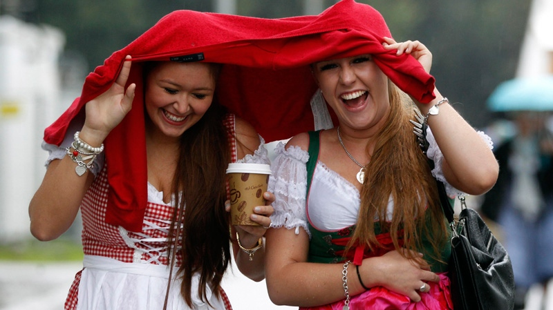 Beer flows as Munich, Germany kicks off 179th Oktoberfest