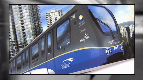 A $400-million funding gap still remains for the long-promised Evergreen SkyTrain line to Coquitlam. Sept. 23, 2010. (CTV)