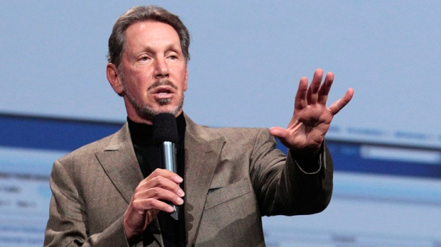 Oracle CEO Larry Ellison in San Francisco on Oct. 5, 2011.