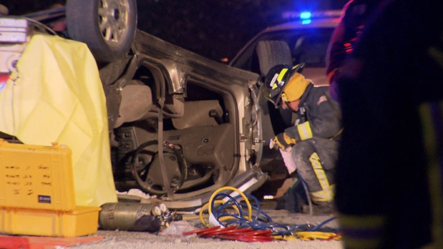 Police are investigating an accident that killed a young man on Sept. 23, 2012. (CTV)