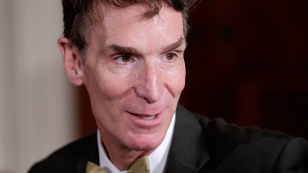 Bill Nye in Washington on Oct. 18, 2010.