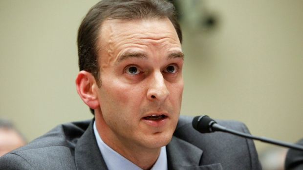 Travis Tygart testifies on Capitol Hill in Washington on Nov. 3, 2009.